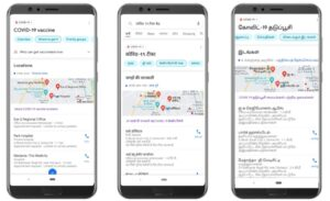 Google India Adds Vaccine Centres, CoWIN Registration Info To Search, YouTube And Maps