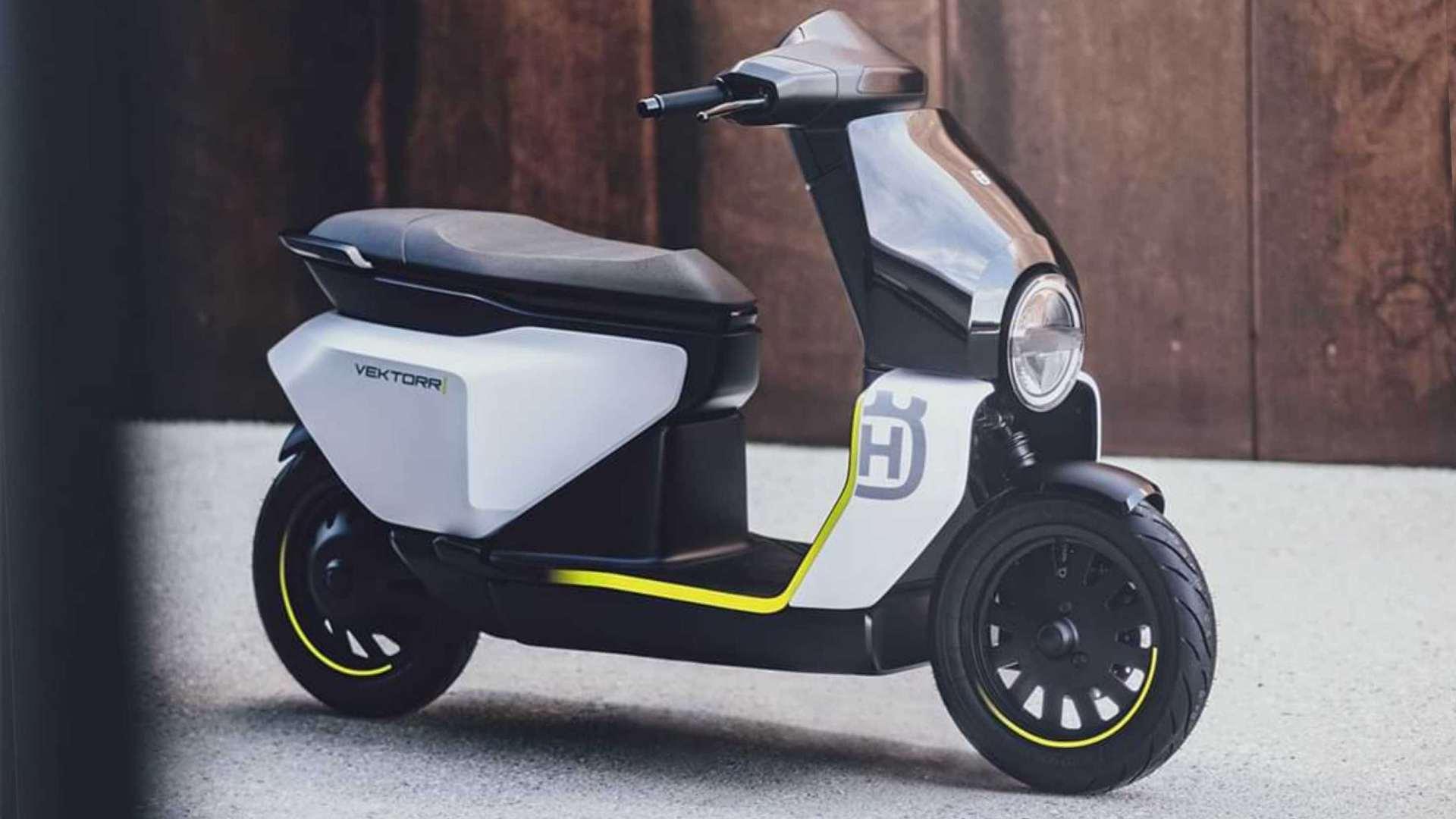 Chetak-based Husqvarna Vektorr e-scooter concept debuts, slated for launch in 2022- Technology News, FP