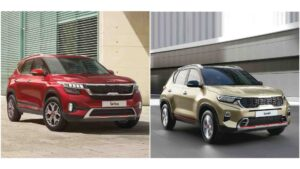 Updated Kia Sonet, Kia Seltos launched in India, AT variants feature paddle shifters- Technology News, FP