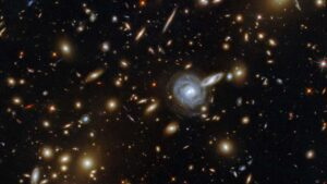 Hubble telescope captures image of unique lopsided spiral galaxy, 120 mn light-years away- Technology News, FP