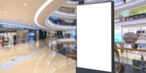 How advertising and marketing trends in shopping malls have evolved