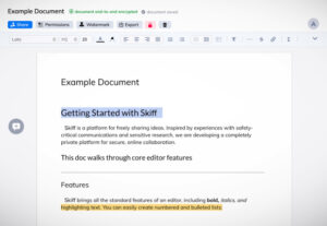 Skiff, an end-to-end encrypted alternative to Google Docs, raises $3.7M seed – TechCrunch