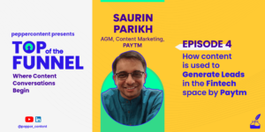 How Paytm is using content to generate leads in the fintech space