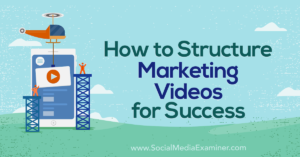 How to Structure Marketing Videos for Success