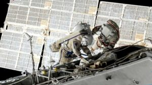 Two cosmonauts conduct seven-hour spacewalk at the ISS to prepare for Russian module- Technology News, FP