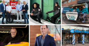 These 6 companies are stoking the red-hot grocery delivery market in Amsterdam