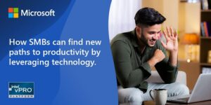How SMBs can find new paths to productivity by leveraging technology
