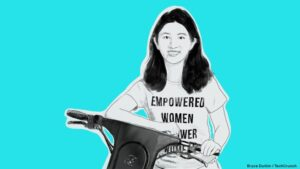Vue CEO Candice Xie has a plan for building a sustainable scooter company, and it's working – TechCrunch