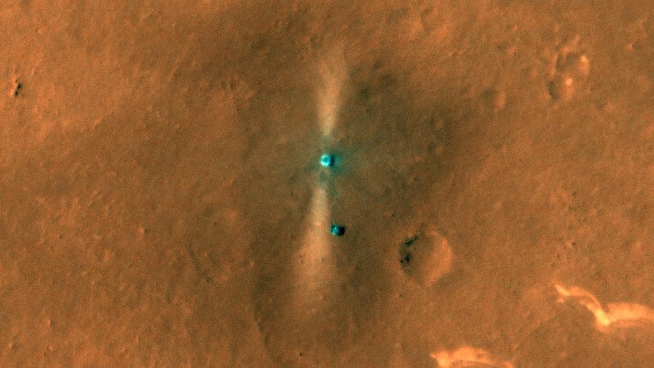 NASA's HiRISE camera clicks coloured picture of China's Zhurong Rover- Technology News, FP