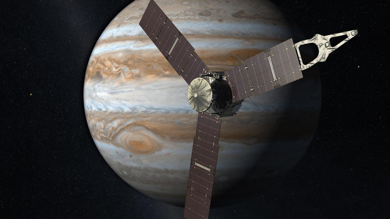 NASA's animated video gives viewers Juno's POV of flying over Jupiter, Ganymede- Technology News, FP