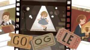 Google honours Shirley Temple, the iconic Hollywod star, with an animated doodle- Technology News, FP