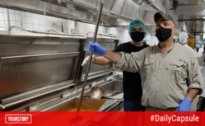 Meet the superhero chefs feeding 23,000 medical personnel across India