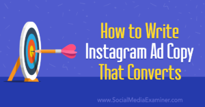How to Write Instagram Ad Copy That Converts