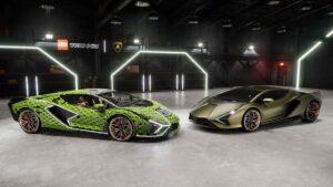 Lego and Lamborghini come together to create life-size Lamborghini Sian FKP 37 replica- Technology News, FP