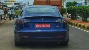 Tesla Model 3 spied on test in Pune, India launch expected towards the end of 2021- Technology News, FP