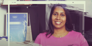 How former Olympic swimmer Nisha Millet is harnessing the power of digital to nurture future athletes