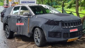 Jeep Meridian three-row SUV spied in India in six-seat form, launch expected in 2022- Technology News, FP