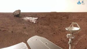 China's Zhurong rover completes initial mission, will continue to explore Mars- Technology News, FP