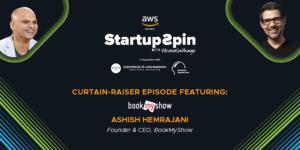 BookMyShow's Ashish Hemrajani at Startup Spin show