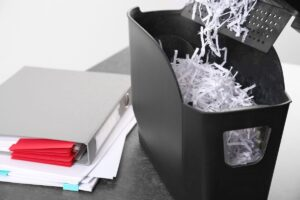 Why You Should Destroy Personal Documents