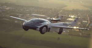 The Jetsons-inspired flying car is now a reality: Slovakian company Klein Vision completes inter-city test flight