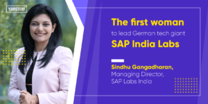 Sindhu Gangadharan of SAP Labs India on people-centric innovations, being a woman in tech, and more