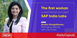 Meet the first woman to lead SAP India Labs