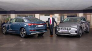 Audi e-tron and e-tron Sportback launched in India, priced lower than Mercedes-Benz EQC- Technology News, FP