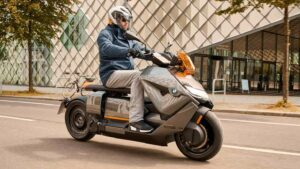 BMW CE 04 electric scooter debuts in production form with 130-kilometre range- Technology News, FP