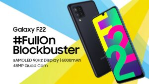 Samsung Galaxy F22 with 48 MP quad camera setup to launch in India on 6 July- Technology News, FP