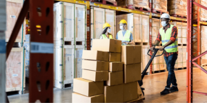 How has the logistic sector gained its importance during COVID-19