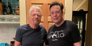Elon Musk has paid $10,000 to book a seat on Richard Branson's space flight