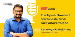 The ups and downs in Aprameya Radhakrishna's entrepreneurial life