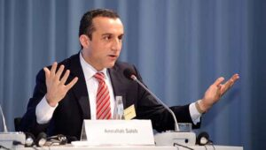 Who is Amrullah Saleh? Why did he procliam himself as the new president of Afghanistan?