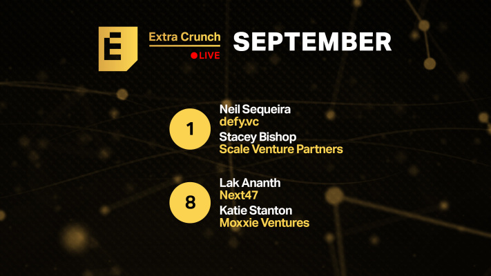 Get your pitch-off on with our Disrupt Startup Alley companies on upcoming episodes of Extra Crunch Live – TechCrunch