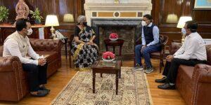 Flipkart CEO Kalyan Krishnamurthy meets FM Nirmala Sitharaman