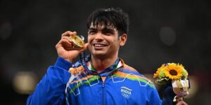 Neeraj Chopra scripts history with stunning javelin throw gold, India's first athletics medal at Olympics