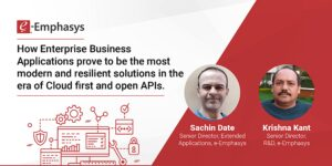 How enterprise class applications can build resilient businesses in the era of cloud solutions and open APIs