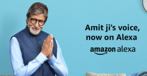 Amitabh Bachchan Becomes India's First Celebrity Voice For Alexa