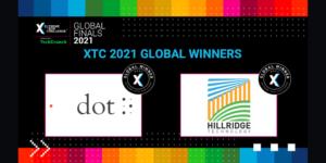 Dot Inc and Hillridge Technology crowned Global Winners at XTC 2021 Global Finals