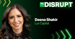 Lux Capital's Deena Shakir is helping judge Startup Battlefield at this year's Disrupt – TechCrunch