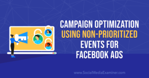 Campaign Optimization Using Non-Prioritized Events for Facebook Ads