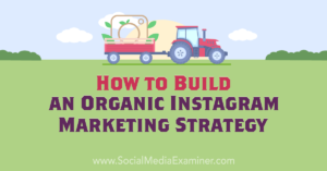 How to Build an Organic Instagram Marketing Strategy