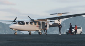 Pyka shows off its new electric passenger plane, the P3 – TechCrunch