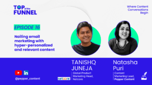 Nailing email marketing with hyper-personalised and relevant content