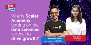 What makes data science a promising vertical for Scaler Academy?