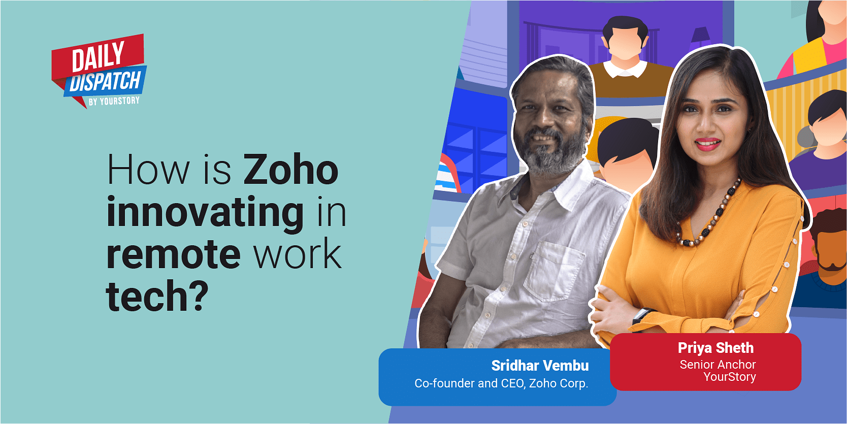 How Sridhar Vembu is steering Zoho Corp to become one of the top technology players in the world