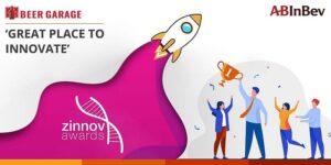AB InBev GCC Wins 'Great Place to Innovate' in Zinnov Awards 2021