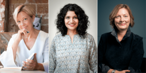 three co-authors share success tips for effective storytelling